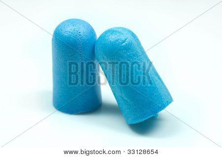 Blue Foam Ear Plugs