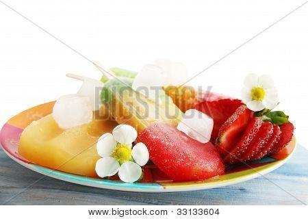 Frozen Strawberry Juice
