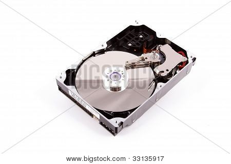 Illustration Of Hard Disk Drive