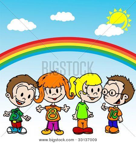 Dibujos de niños hablando entre ellos - Imagui