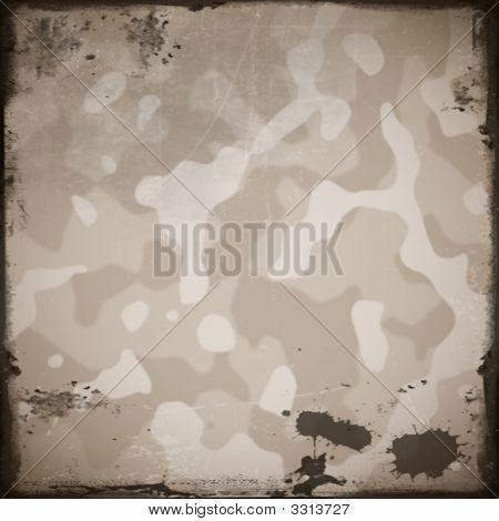 Grunge Camouflage Background