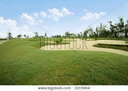 Diverse View Of Golf Links