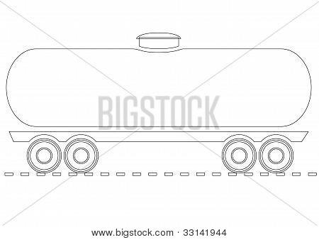 Vector Oil tank