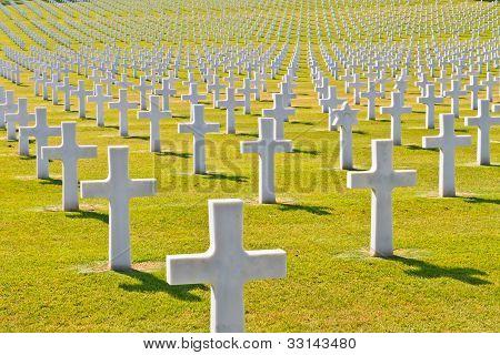 Cemitério de guerra americano