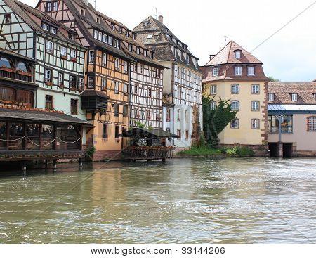 Historic houses in Strasbourg