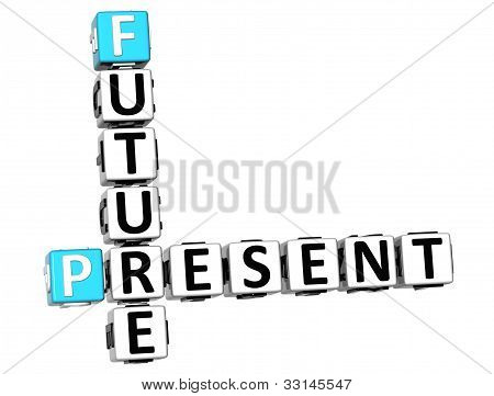 3D Future Present Crossword