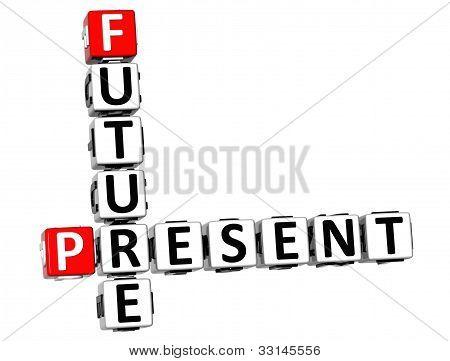 3D Future Present Crossword