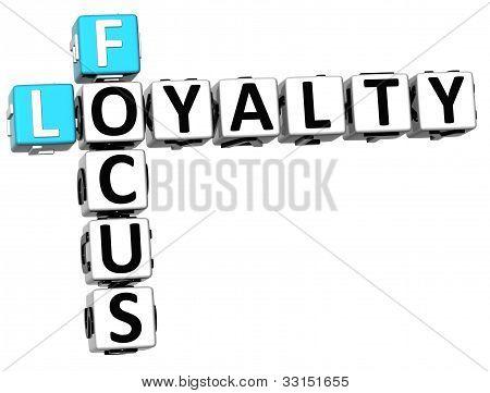 3D Focus Loyalty Crossword