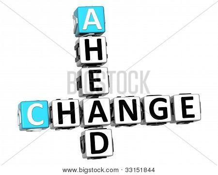 Crucigrama adelante cambio 3D