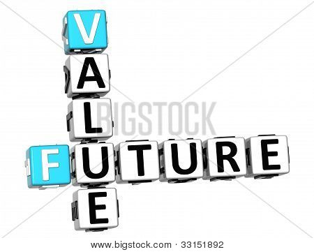 3D Future Value Crossword