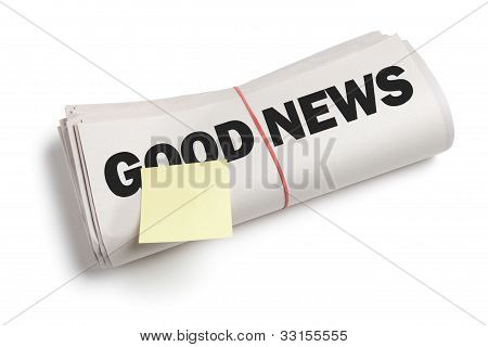 Good News And Sticky Note