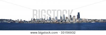 Panorama - Seattle Waterfront Skyline