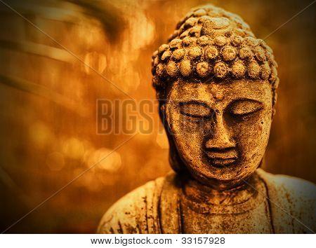 Buddha In Sepia