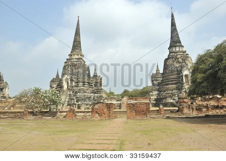The ancient pagoda