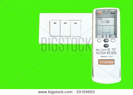 Electric switch and Air conditioner remote