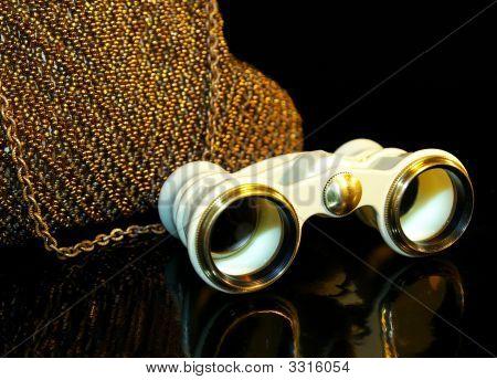 Theatre Handbag And Opera-Glass