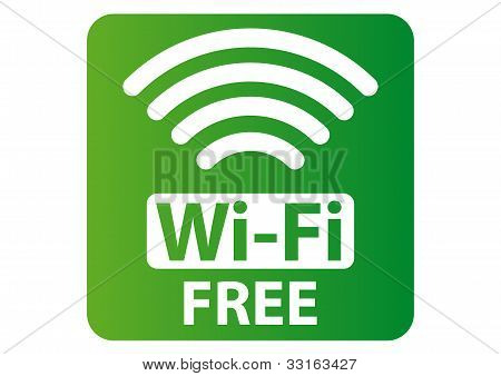 Sinal de Wi-Fi grátis