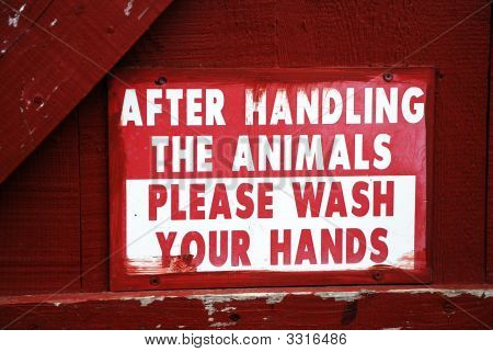 Animal Safety Sign