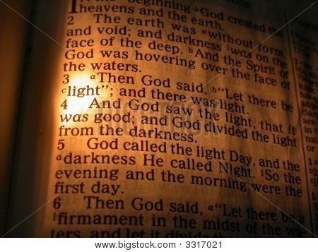 Genesis 1 - Bible Verse