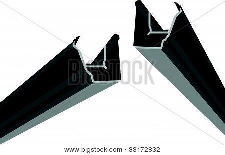 black guttering