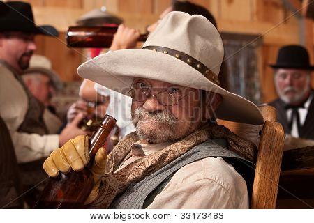 Drunken Old Cowboy