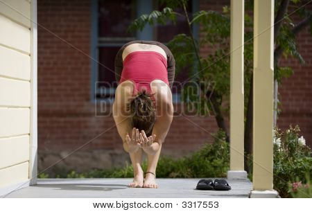 Yoga On The Porch