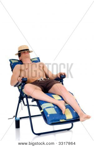 Body Builder, Beach Chair