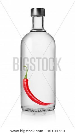 Pepper vodka