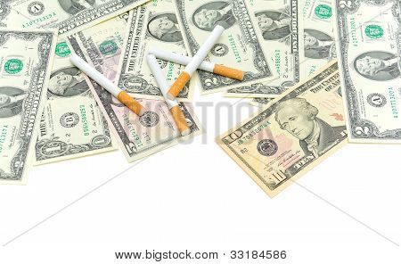 American Money And Cigarettes