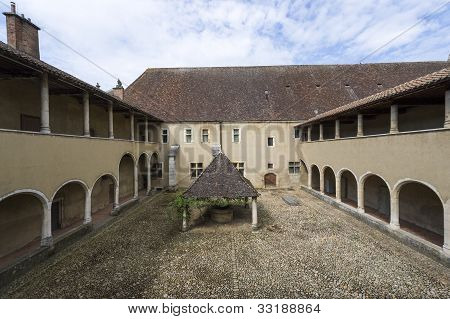 Church Of Brou (bourg-en-bresse), Cloister