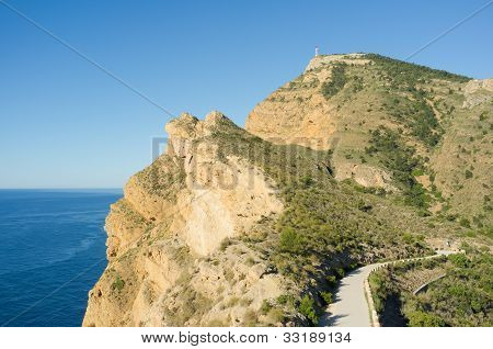 Road On The Mediterranean