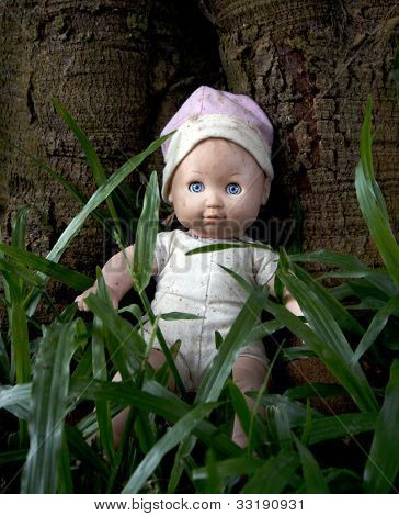 old toy doll
