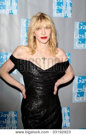 BEVERLY HILLS - MAY 19: Courtney Love at the L.A. Gay & Lesbian Center's 'An Evening With Women held at The Beverly Hilton Hotel on May 19, 2012 in Beverly Hills, California