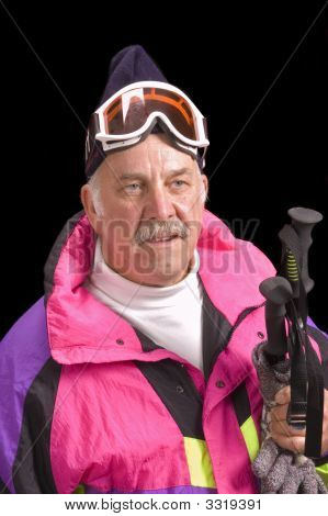 Baby-Boomer Skier