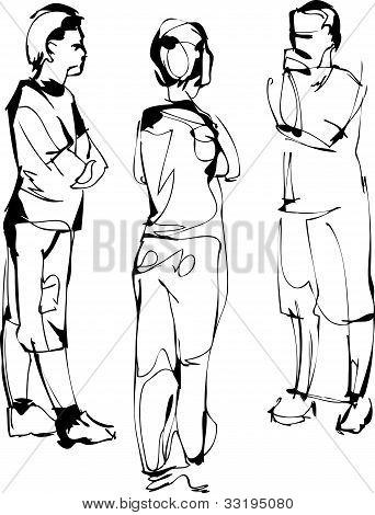 sketch company from three fellows speak