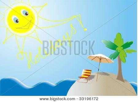 Summer Holidays island
