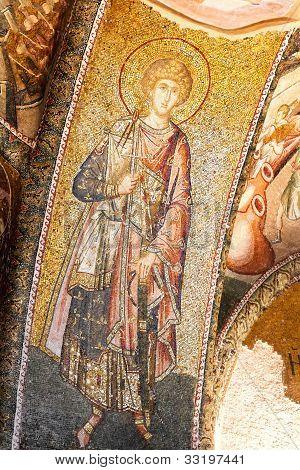 Byzantine military saint