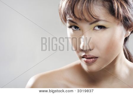 Portrait Of Beautifull Asian Woman