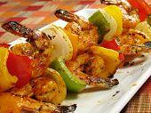 Spicy Shrimp Kebabs poster