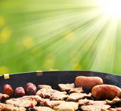 image of bbq party  - Summer grilling - JPG