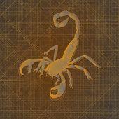 Постер, плакат: Скорпион