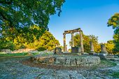 Archaeological Site of Olympia, UNESCO world heritage in Greece poster