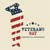 Veterans Day Honoring All Who Served Poster Celebration poster