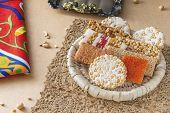 Egyptian Traditional Prophet Muhammad Birthday Celebration Desserts, Egyptian Culture poster