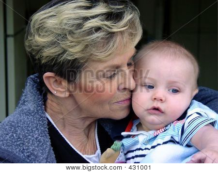 Grandmother And Great Grandson~