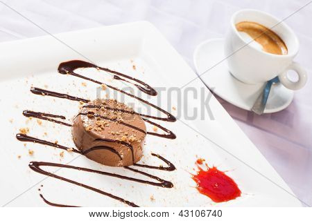 Coffee And Mousse