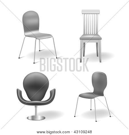 Vector Chairs Set