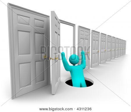 Choosing The Wrong Door