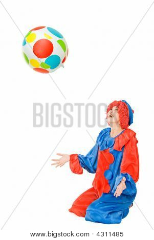 Clown With Ball