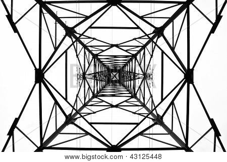 High voltage electrical tower